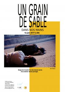 Un grain de sable dans nos mains_flyer